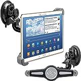 """kwmobile 10"""" Tablet PC KFZ Scheiben Halterung PKW Auto Halter mit Saugnapf, 360° Autohalter, Schwarz"""