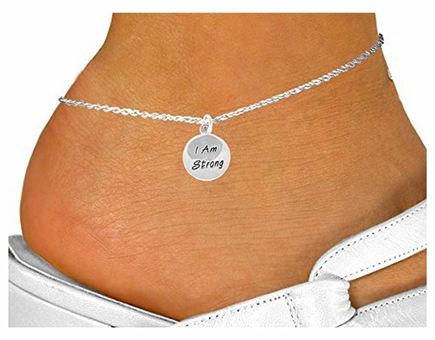 """I Am Strong"" Circle & Anklet"