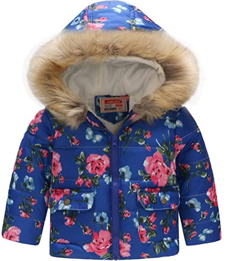 e3512f7d5a12 Amazon.com  HMBEIXYP Toddler Baby Boys Girls Outerwear Snowsuit ...