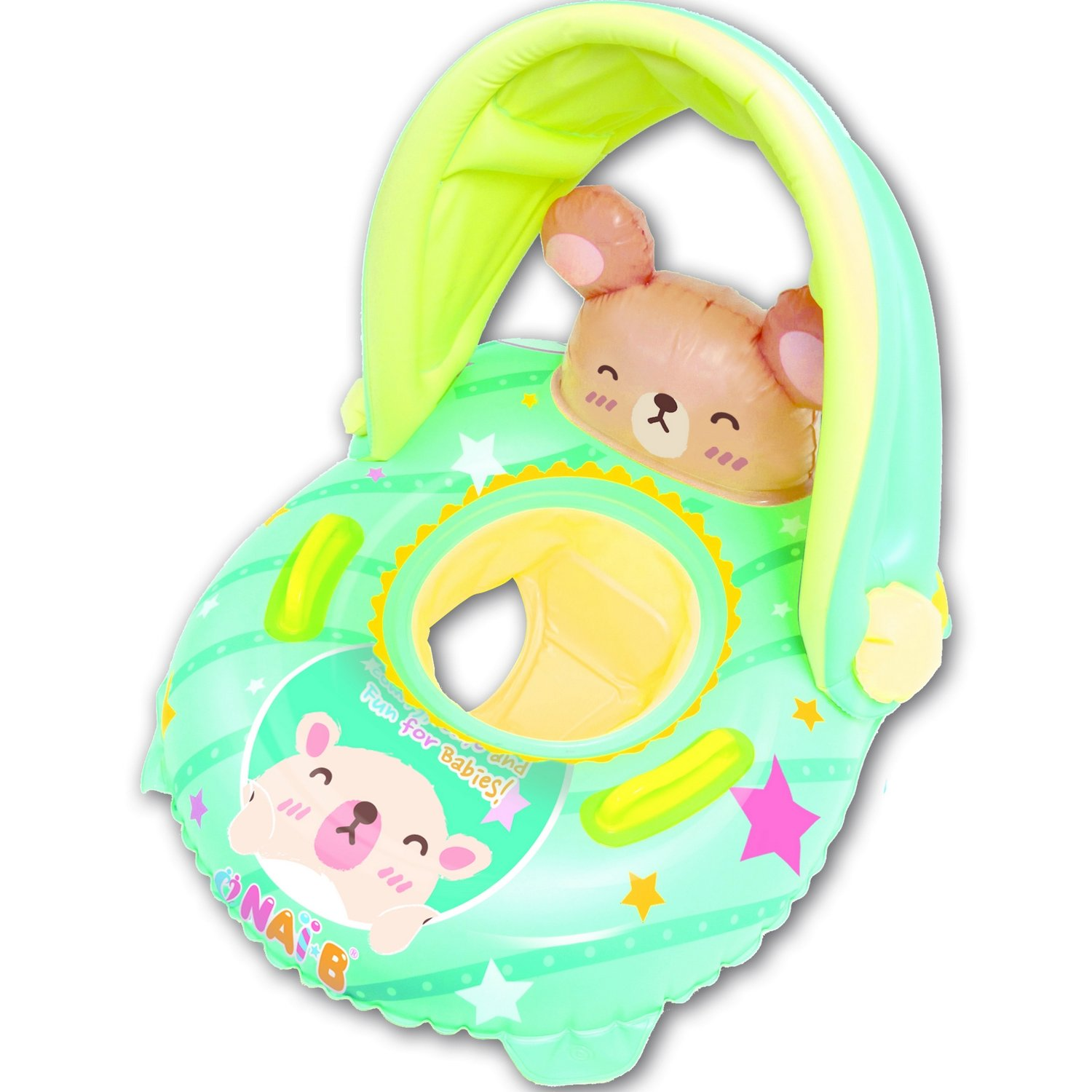NAI-B K Hamster Cushion Parasol Baby Swim Float - Mint