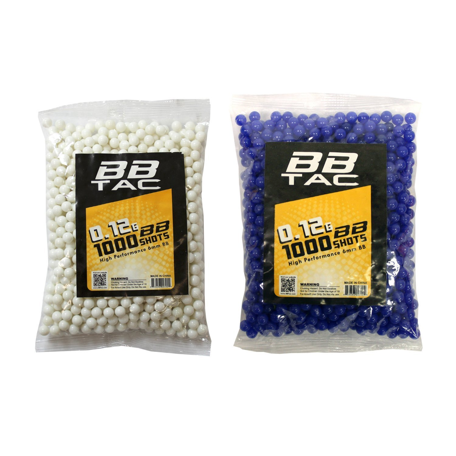 4000 BB Pellets Great for Starter Pack Game Play BBTac Airsoft Gun Package World War II Collection of 4 Airsoft Guns Spring Rifles and Pistols