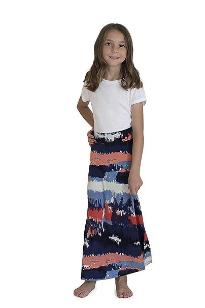 6f1c62750 Amazon.com: KIDPIK Skirts for Girls – Cute Long Maxi Skirts in Black ...