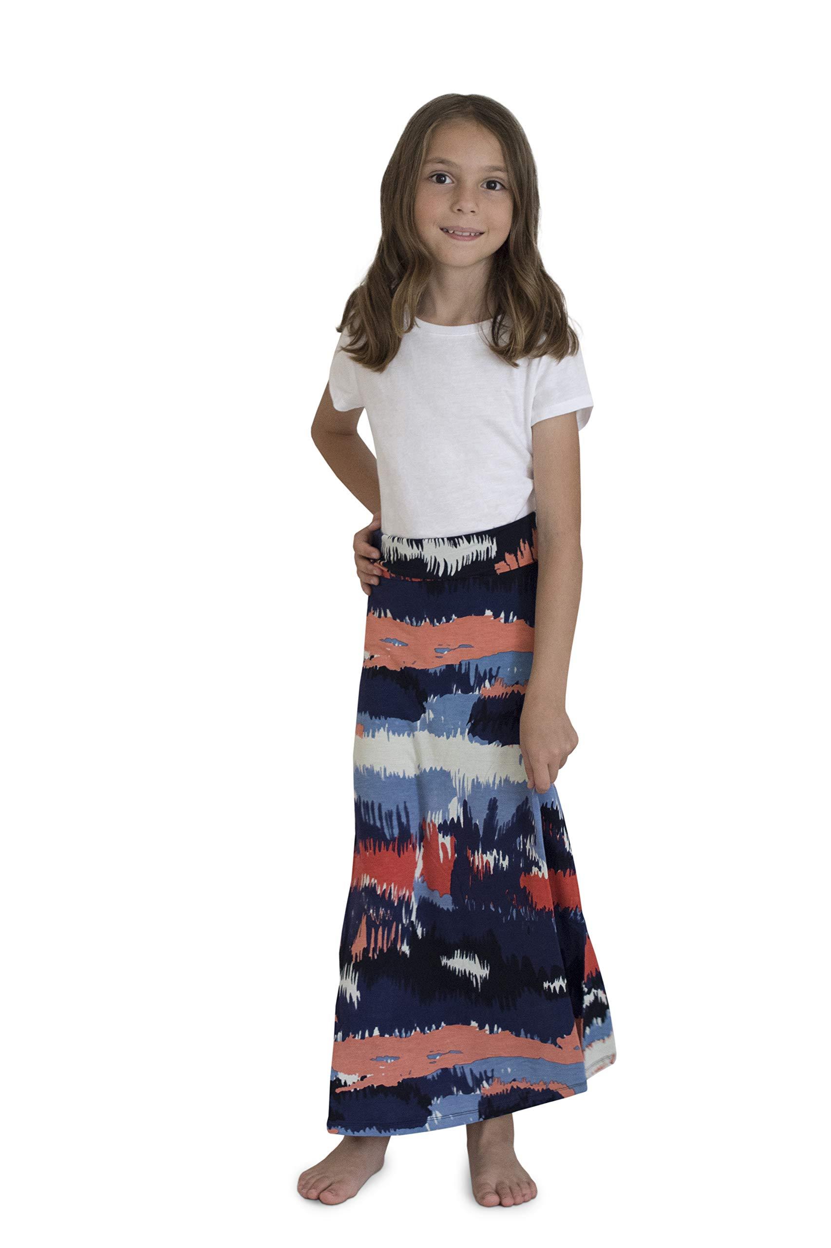 KIDPIK Skirts for Girls - Long Maxi Desert -M by KIDPIK (Image #1)