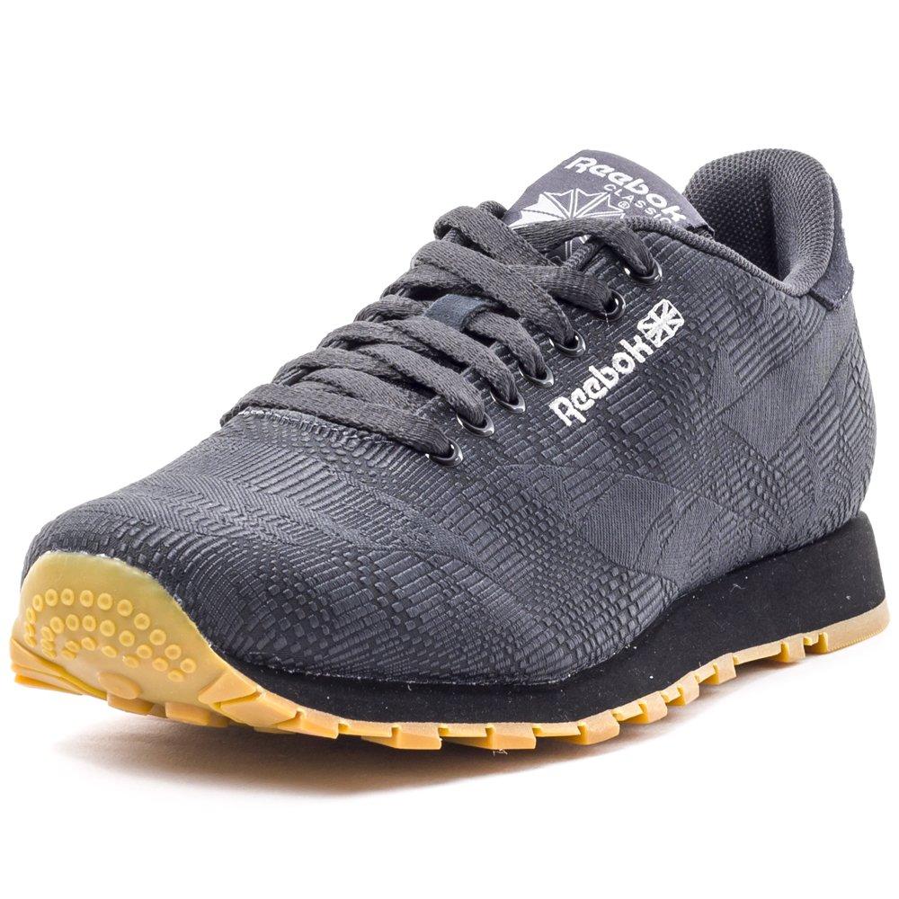 Scarpe Reebok Classic Runner Jacquard Sneaker Uomo Nere