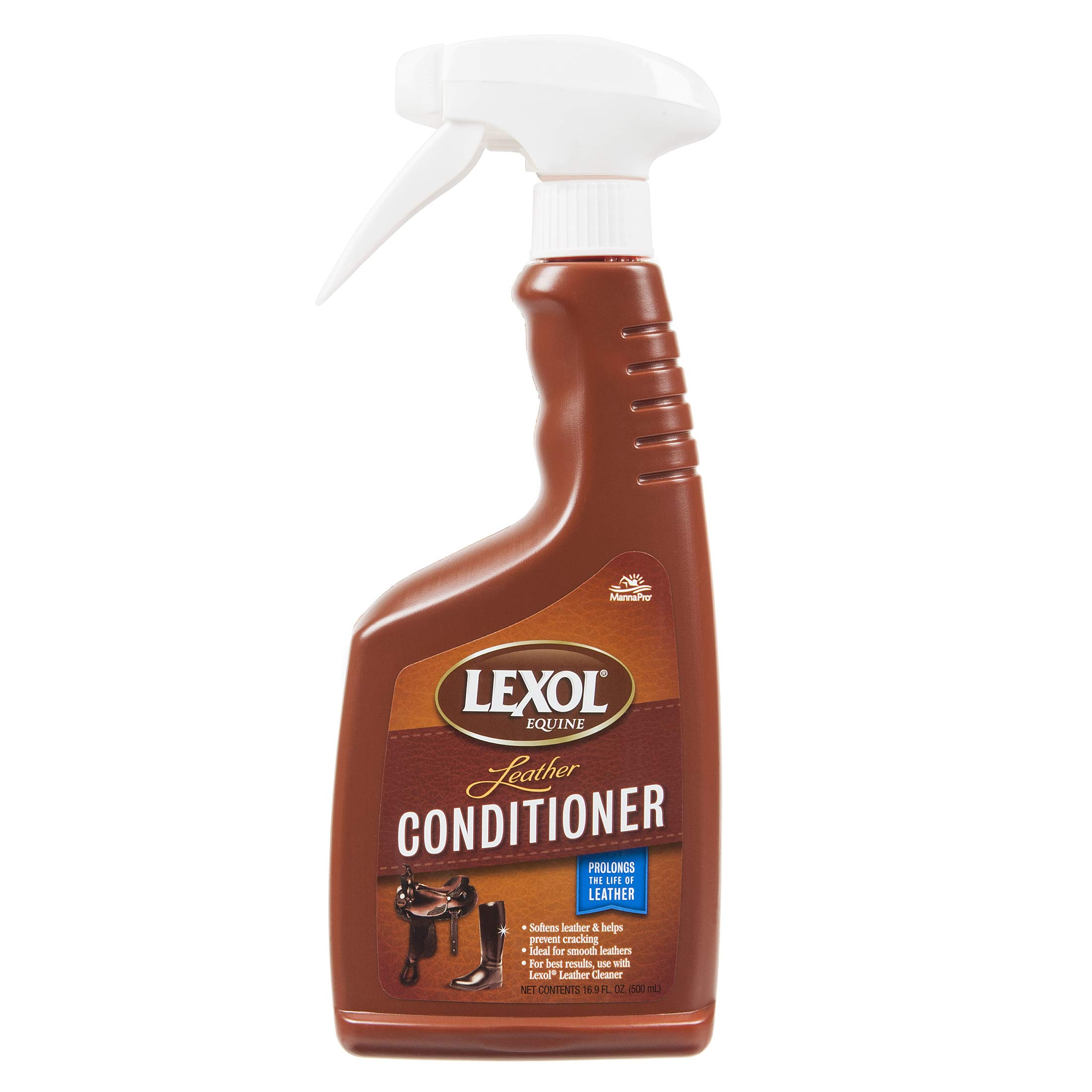 Manna Pro 441805 Lexol Leather Conditioner Supplies, 16.9 Oz, 6 by Manna Pro