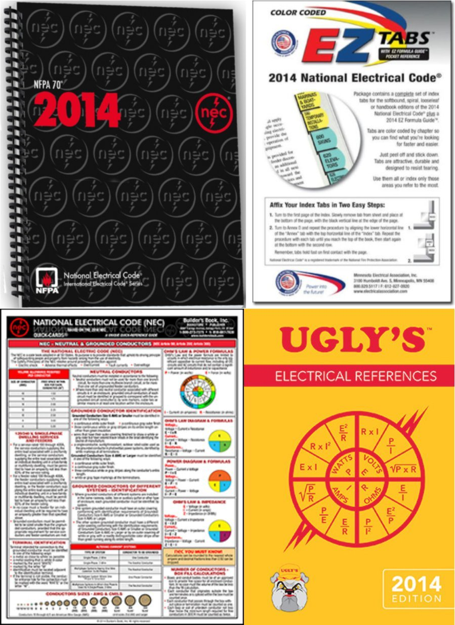NFPA 70 : National Electrical Code NEC, Spiralbound, 2014 Edition, EZ Package