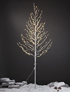 LIGHTSHARE 6Ft 240L LED Star Light Tree,Home,Festival,Party,Christmas,Indoor and Outdoor Use,Warm White