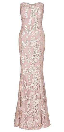 a818dedd75f Amara Sequin Maxi Dress with Corset Style