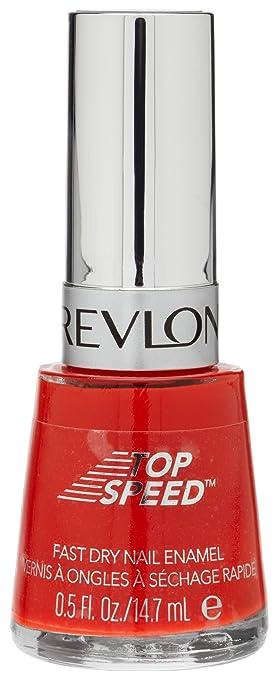 Amazon.com : Revlon Top Speed Nail Enamel, Chili, 0.5 Fl Oz : Nail ...