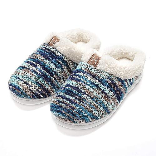 Zapatillas de casa Hombre, Forro algodón, Ultraligero cómodo y Antideslizante, Pantuflas de casa para Hombre: Amazon.es: Zapatos y complementos