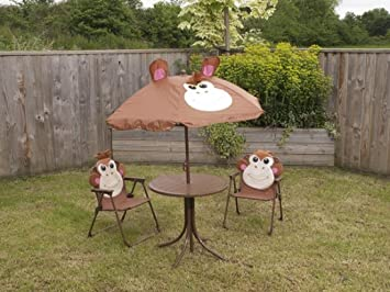Quest Childrens Monkey Garden Set Amazoncouk Garden Outdoors