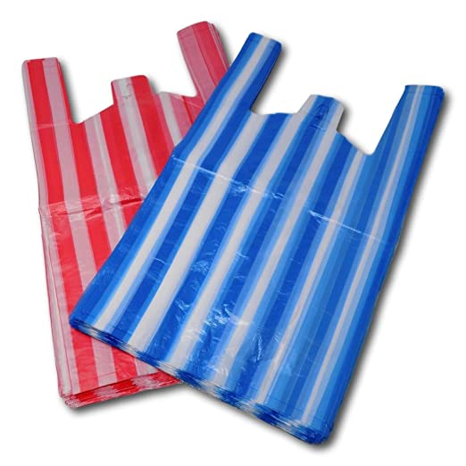 Bolsas de plástico para chaleco, color azul, rosa, blanco ...