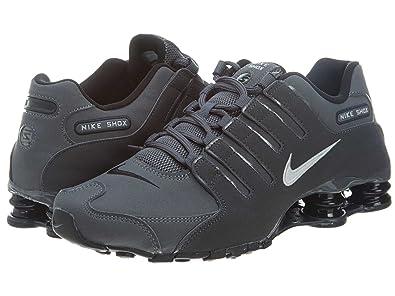 Nike Mens Shox NZ Leather Trainers