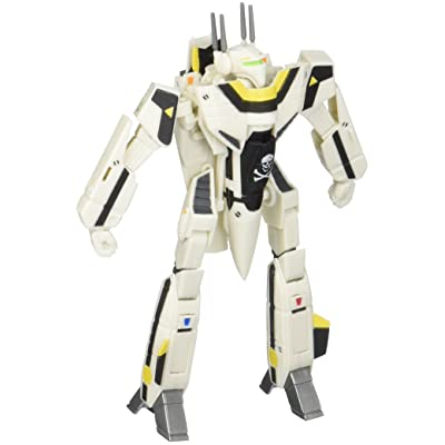 Robotech 30th Anniversary Roy Fokker VF-1S Transformable 1:100 Scale (Series 1) Action Figure by Toynami: Toys & Games