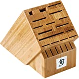 22-Slot Bamboo Knife Block