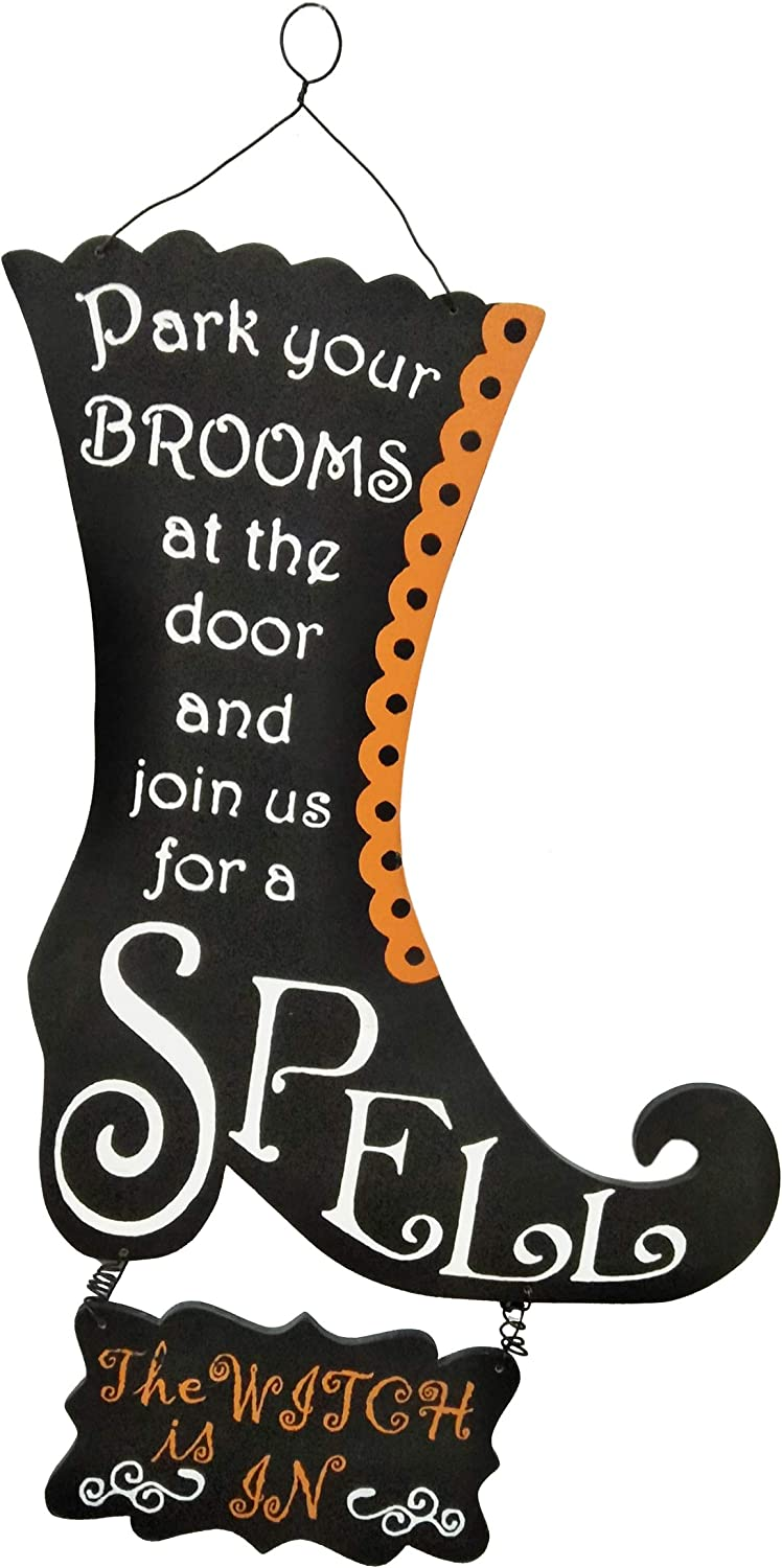 National Tree Company Halloween Wall Décor | Witch's Boot - 18 Inch