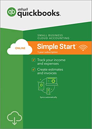 QuickBooks Online Simple Start 2018 Small Business Accounting [PC/Mac  Online Code] [OLD VERSION]