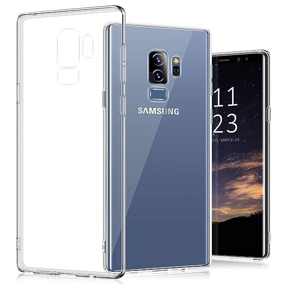 Galaxy S9+ Plus Case, TORRAS Slim Fit Ultra Thin Soft TPU Cover Case Samsung Galaxy S9 Plus 6.2
