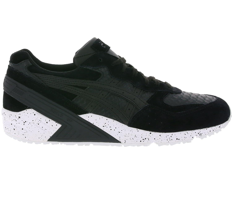 brand new bf54d 5b9aa asics Gel-Sight Men's genuine leather sneaker Black H708L ...
