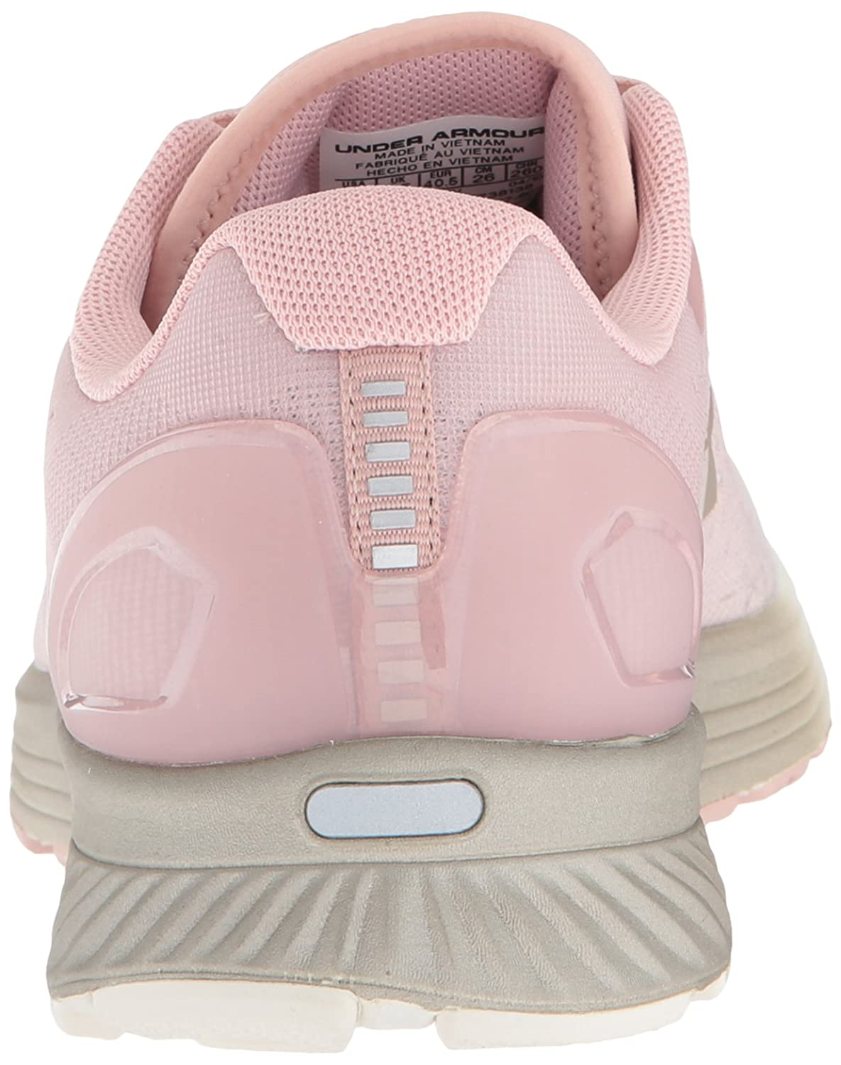 Under Armour Running Women's Charged Bandit 4 Running Armour Shoe B076RT244D 6.5 M US|Flushed Pink (603)/Ivory 5102e5