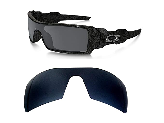 0e146280b4f Galaxy Replacement lenses For Oakley Oil Rig Polarized Multiple-Color  Available Black