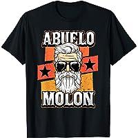Hombre Abuelo Molon Día Del Padre Regalo Divertido Para Los Camiseta