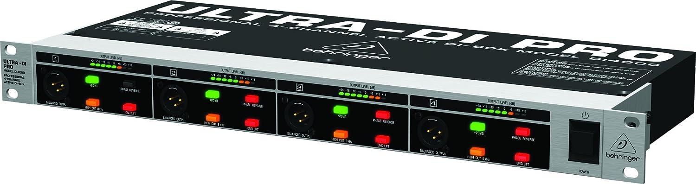 Behringer DI 4000 Pro Activo Caja de inyección directa de 4 canales: Amazon.es: Instrumentos musicales