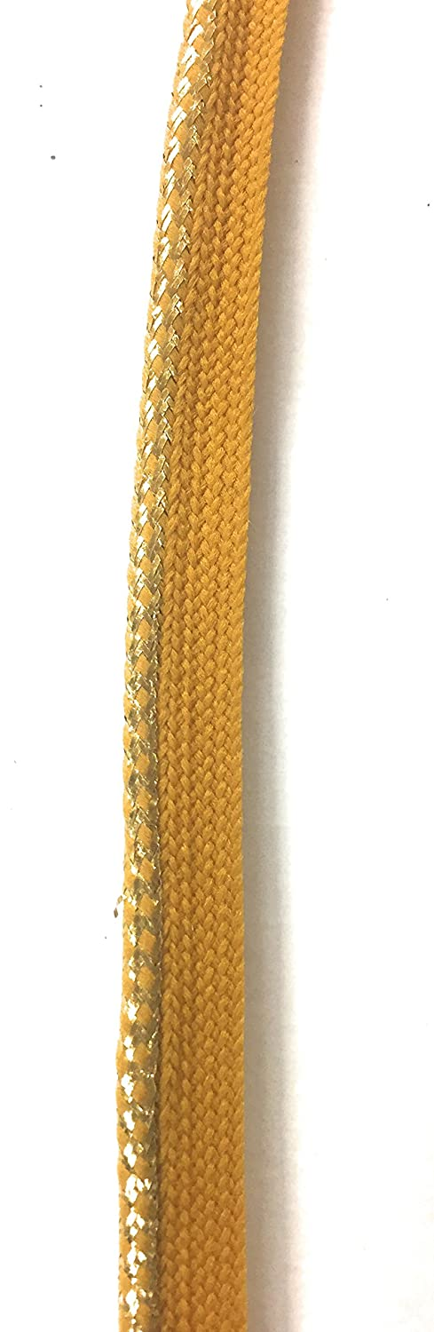 Metalic Gold / Mustard Cord-edge Piping Trim for Clothing Pillows, Lamps, Draperies 5 Yards Pi-129 Trims Unlimited