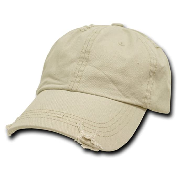 6f6d18ed470 Image Unavailable. Image not available for. Color  Stone Vintage Distressed  Polo Style Low-Profile Baseball Cap Hat