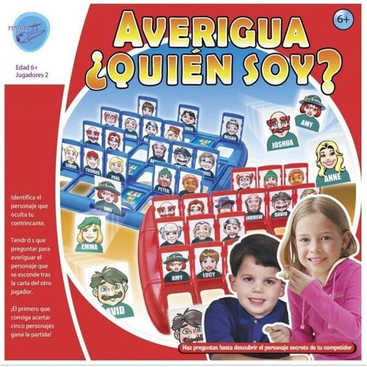 Importacion Juego ADIVINA EL Personaje: Amazon.es: Juguetes y juegos