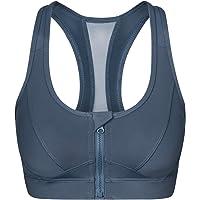 Yvette Sports Bra Front Closure - High Impact for Women Fitness