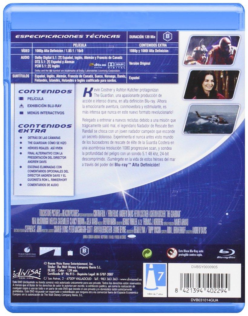 The guardian [Blu-ray]: Amazon.es: Kevin Costner, Ashton ...