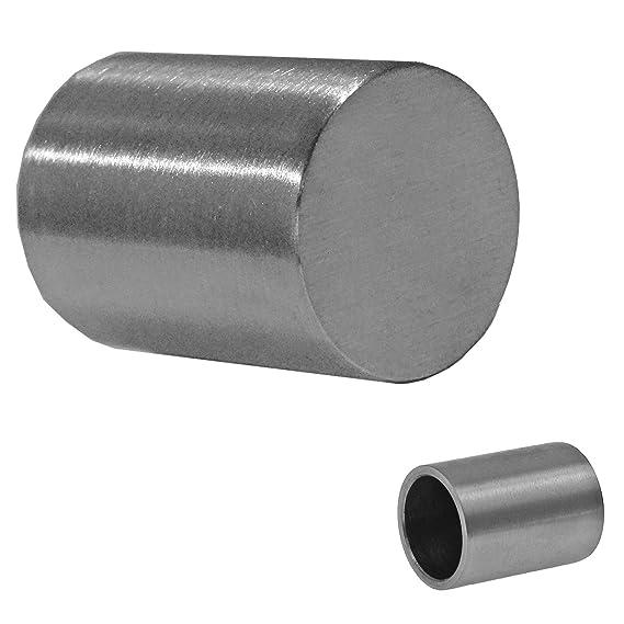 Edelstahl V2A Gel/änder Querstab Endkappe Kugel Abschlusskugel f/ür 12mm/Ø Gel/änderf/üllungen