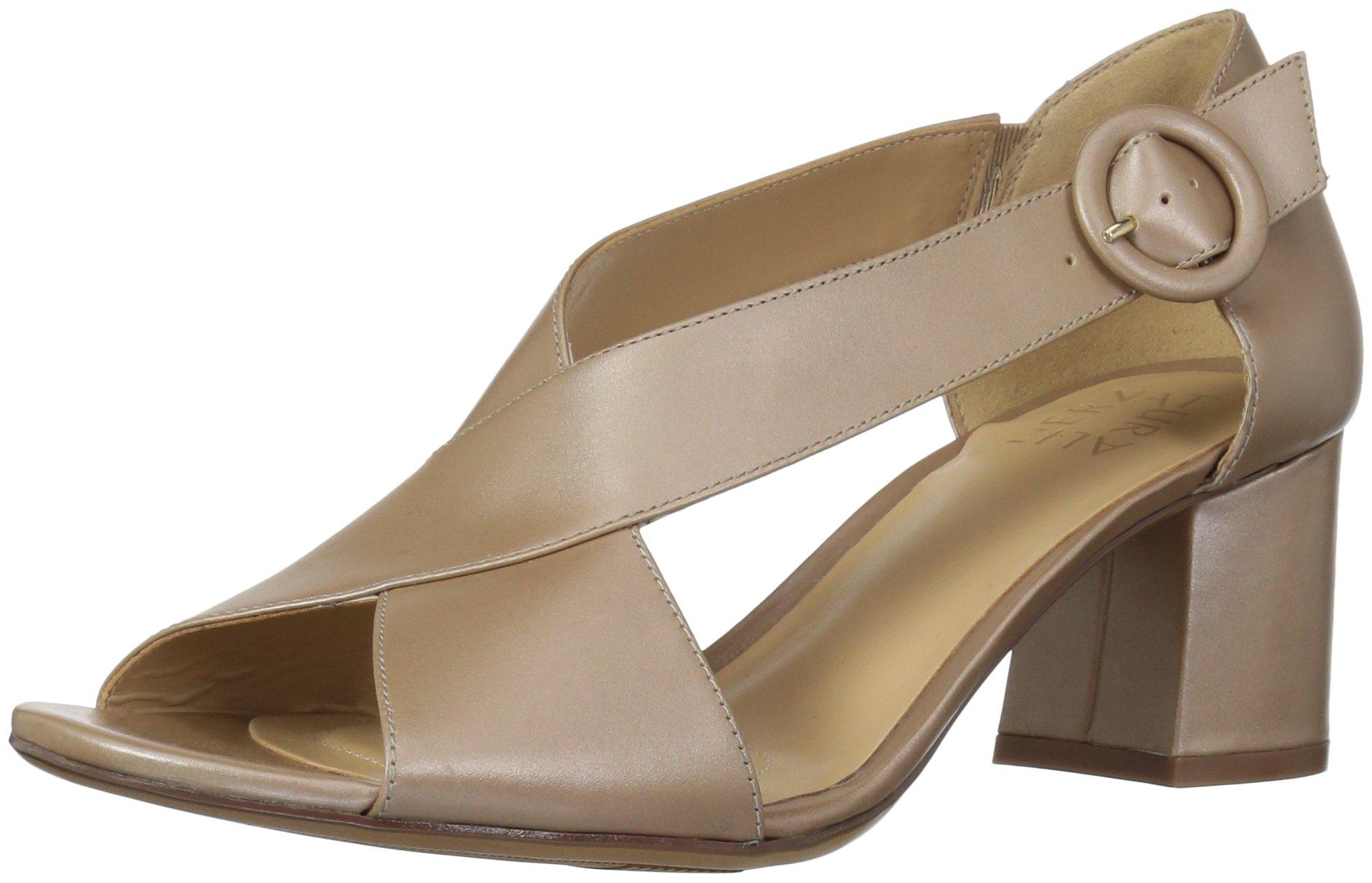 Naturalizer Women's Caden Dress Sandal, Taupe, 7 M US