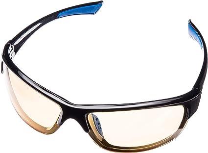 Semi-rimless Night Vision Glasses Safety Anti Glare Driver Eyewear Polarized Sunglasses For Women and Men BOZEVON Night Driving Glasses