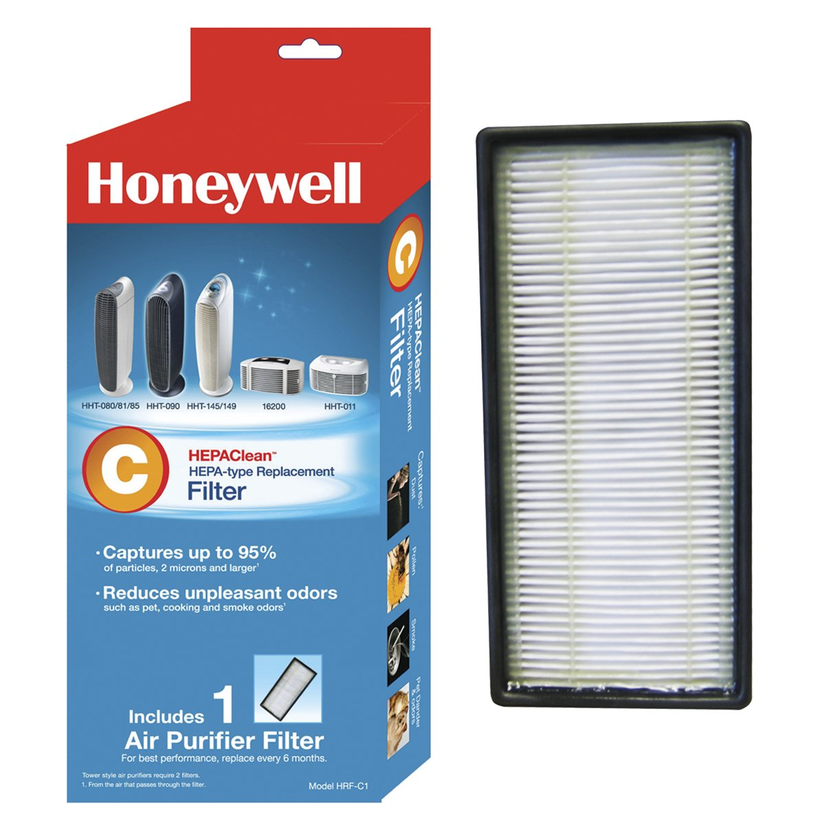 Honeywell HEPAClean Air Purifier Replacement Filter, HRF-C1/Filter (C)