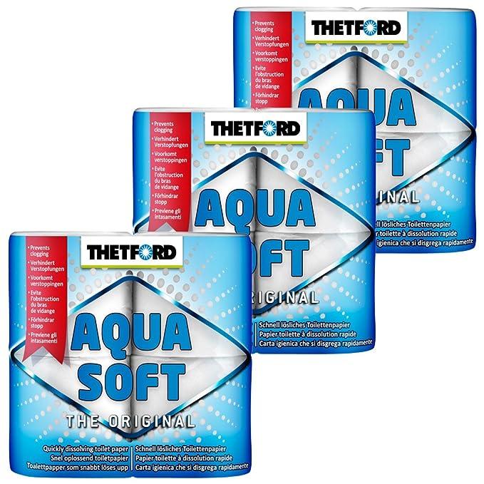 Lquido para inodoros de Acampada Thetford 30358 Aqua Rinse Plus 1,5L