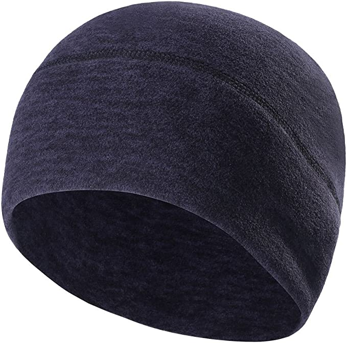 Winter Sport Beanie Hat Fleece Warm Ski Ear Cover Helmet Liner Cap for Men Women
