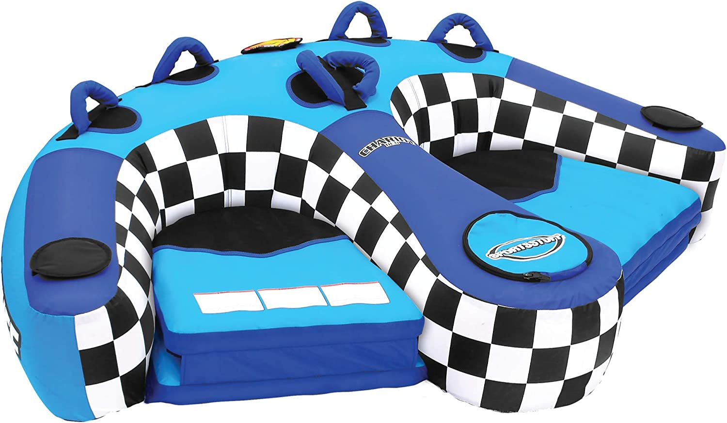 Sportsstuff Chariot Duo   1-2 Rider Towable Tube for Boating