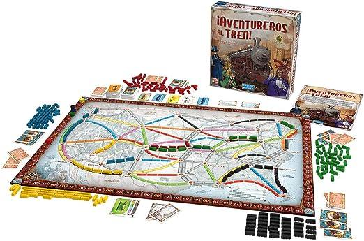 Days of Wonder- Aventureros Español-¡Sube al Tren de la Aventura, Multicolor, Talla Única (DW7281): Amazon.es: Juguetes y juegos