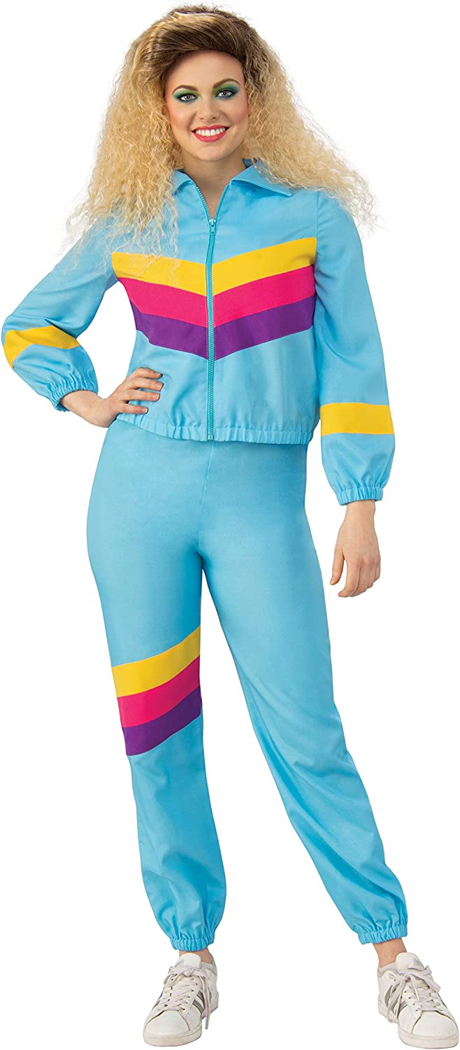 Women Multi-Colour Bristol Novelty AF118S Shell Suit Female S Costume Small