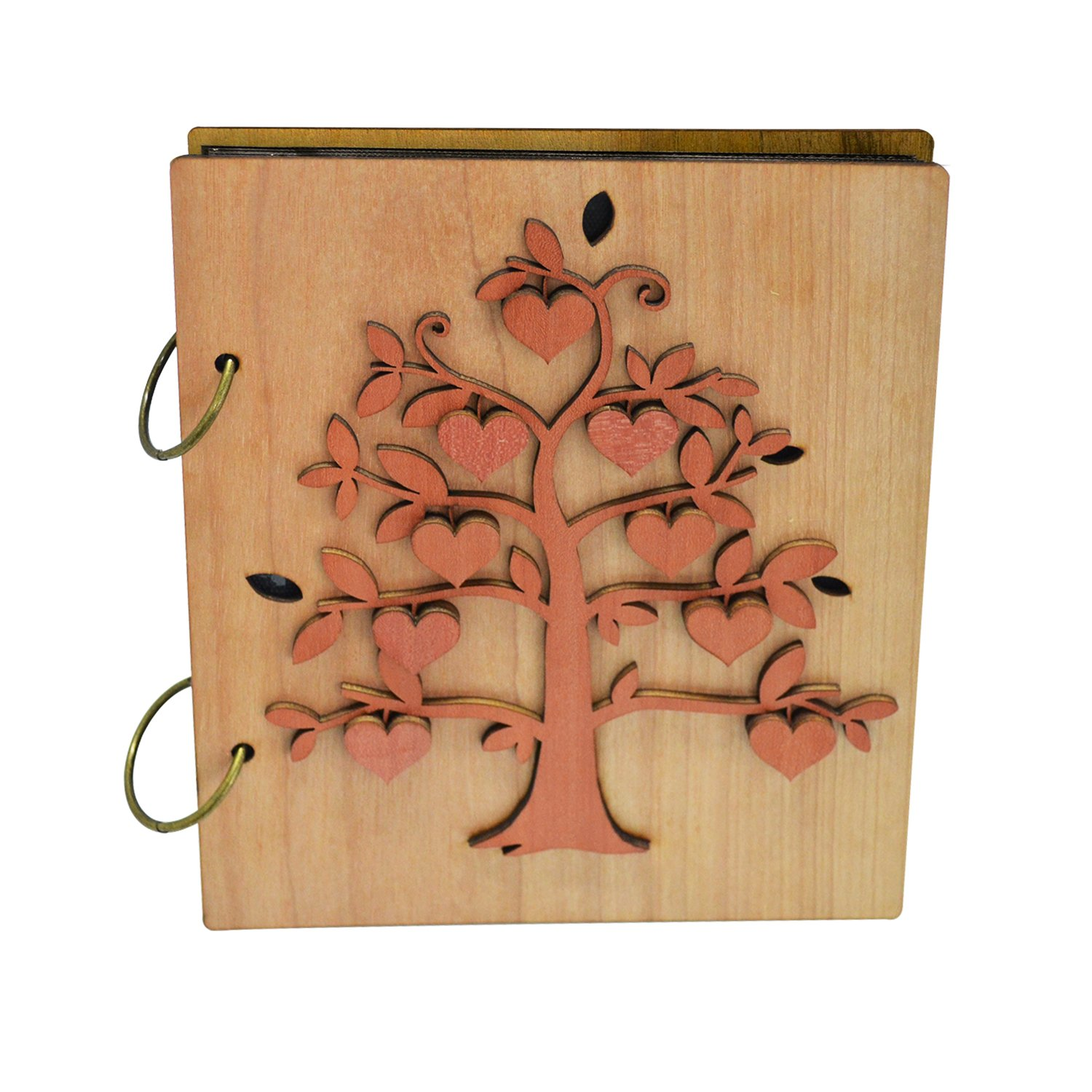 Giftgarden 4x6 Family Tree Photo Album 120 Pockets Photo Book 4 x 6 inch Picture
