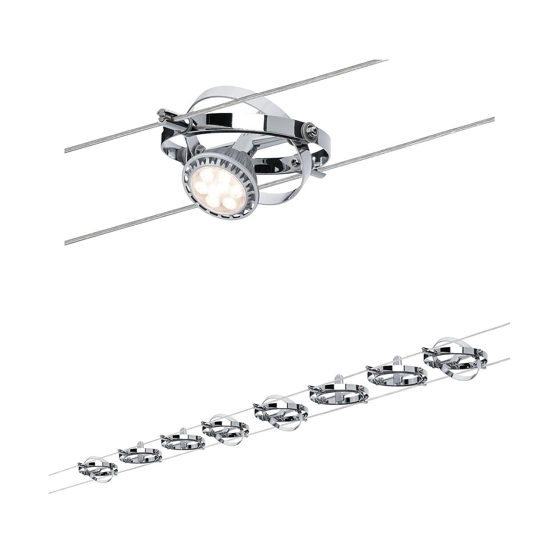 Paulmann 941.53 Wire System Cardan max 8x10W GU5,3 dimmbar dimmbar dimmbar Metall Seilsystem Seilleuchte Seillampe LED 94153 0dd9d3