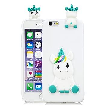 coque iphone 6 silicone licorne