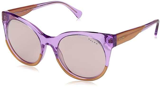 14964cf1f1d7 Image Unavailable. Image not available for. Colour: Ralph by Ralph Lauren  Women's 0ra5246 Non-Polarized Iridium Oval Sunglasses ...