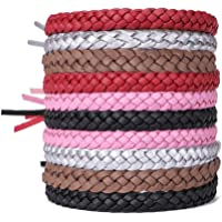 ACTOPP Bracelets Anti Moustique pour Adultes et Enfants Protection Extérieure Intérieure 100% Naturel sans Deet 10 Packs 5 Couleurs