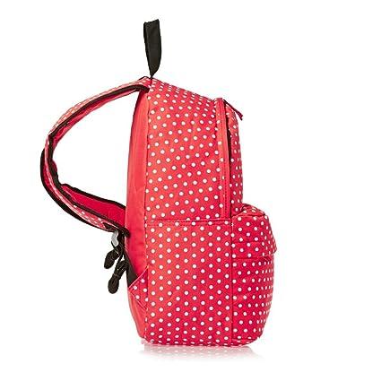 2f61c943d7f1 Amazon.com   SWANE Paul Frank Style Stripe Canvas Polka Dot Backpack ...