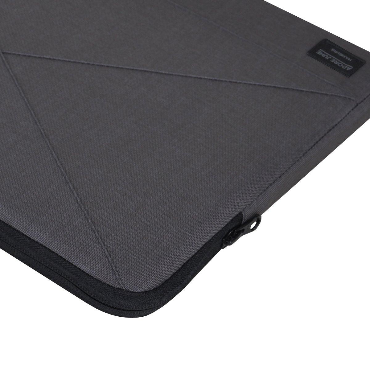 Cover en Tissu Textile r/ésistant Adore June 15,4 Pouces Sac Triangle Noir Housse Compatible avec Apple MacBook Pro 15 2016-2019