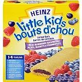 Heinz Little Kids Acai Blueberry Raspberry Cereal Bar, 6 Bars