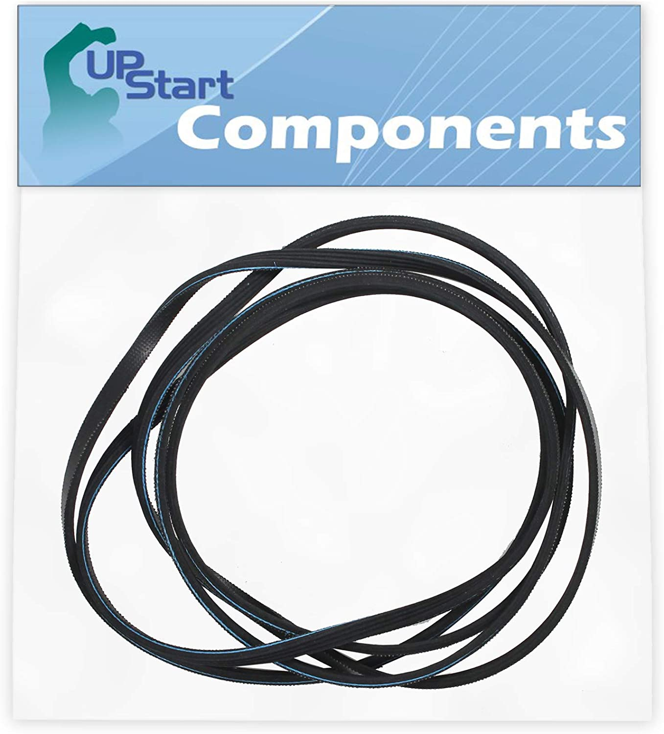 341241 Dryer Drum Belt Replacement For Whirlpool Wgd5000Dw1 Dyer - Compatible With 8066065 Belt - Upstart Components Brand